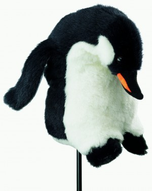 Silverline Tier-Headcover Deluxe Pinguin bis 260 ccm