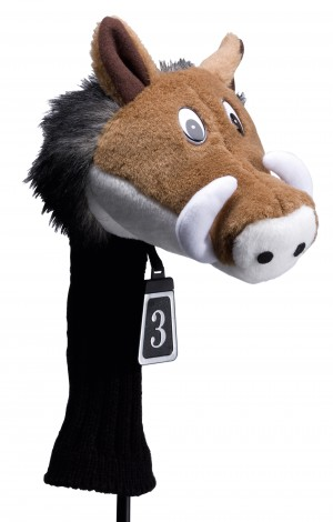 Silverline Animal Headcover Wildschwein Fairway Wood 260 ccm