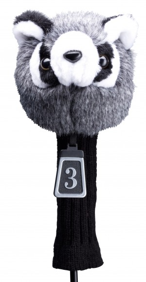 Silverline Animal Headcover Waschbär Fairway Wood 260 ccm