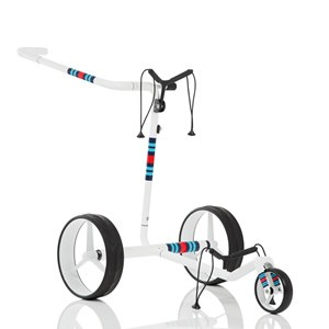 JuCad Carbon Travel Racing White Elektrotrolley