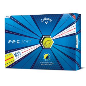 Callaway ERC Soft Yellow Golfball