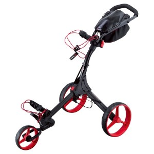 BIG MAX Golftrolley IQ+ schwarz/rot