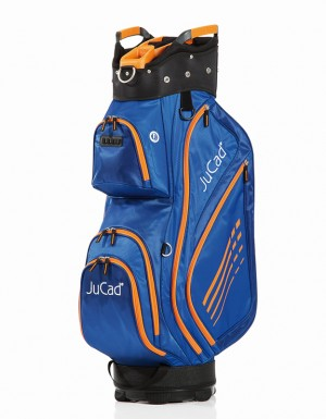 JuCad Bag Sportlight Blau / Orange