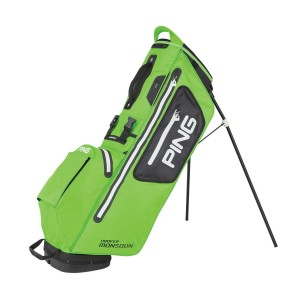 Ping Hoofer Monsoon Carry Bag, electric lime green-black