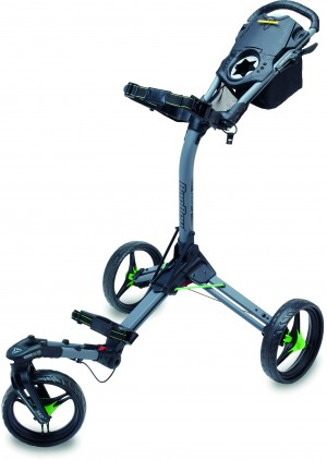 Bag Boy TriSwivel 2.0 Trolley, battelship grey/lime