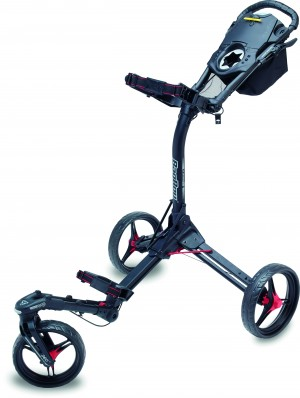 Bag Boy TriSwivel 2.0 Trolley, black/red