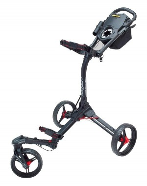 Bag Boy Tri Swivel 2.0 black/red Golftrolley