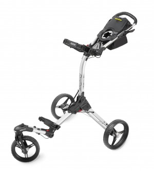 Bag Boy TriSwivel 2.0 Trolley, silver/black